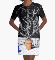 TIME AERIALS Time Aerials Graphic T-Shirt Dress