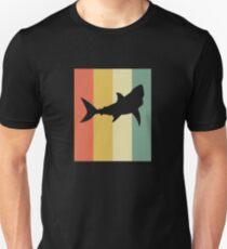 Vintage-Stil Shark Silhouette Shirt Unisex T-Shirt