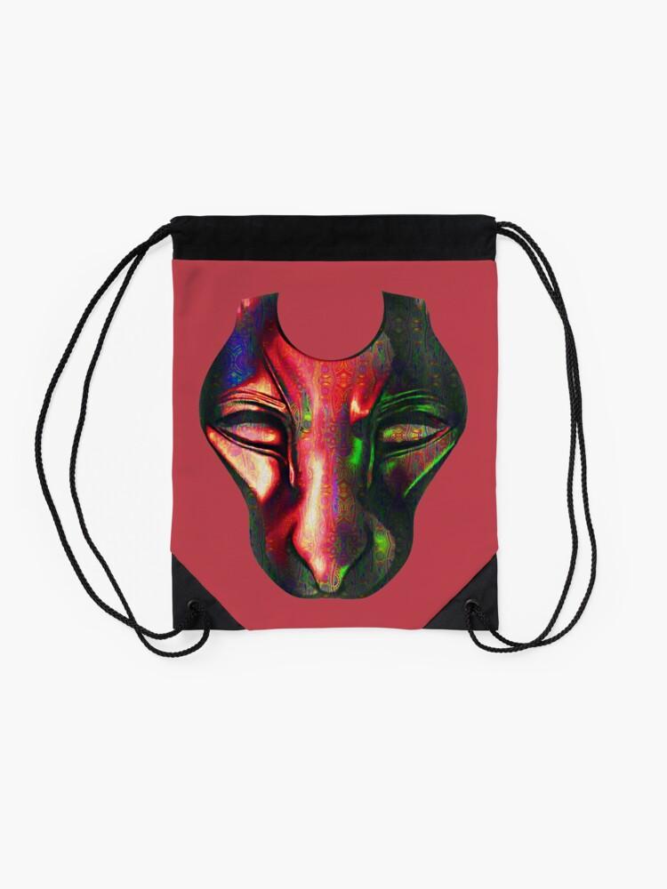 Alternate view of Mask Drawstring Bag