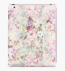 Vinilo o funda para iPad Patrón de flores vintage acuarela rosa