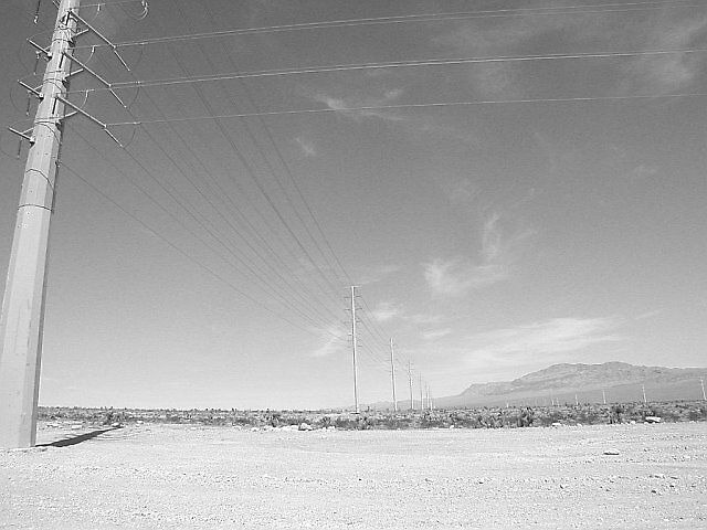 Las Vegas - Landscaped Lines by Will Edwards