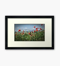 """Nature finds a way"" Framed Print"