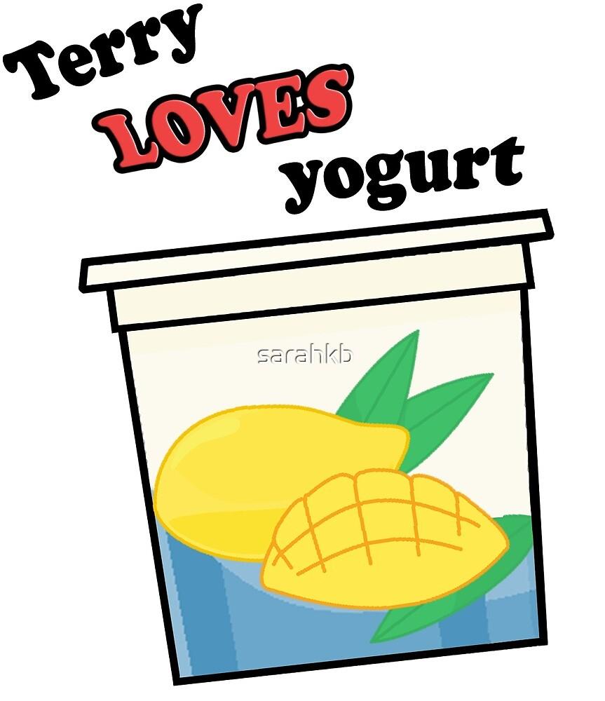 Terry loves yogurt by sarahkb