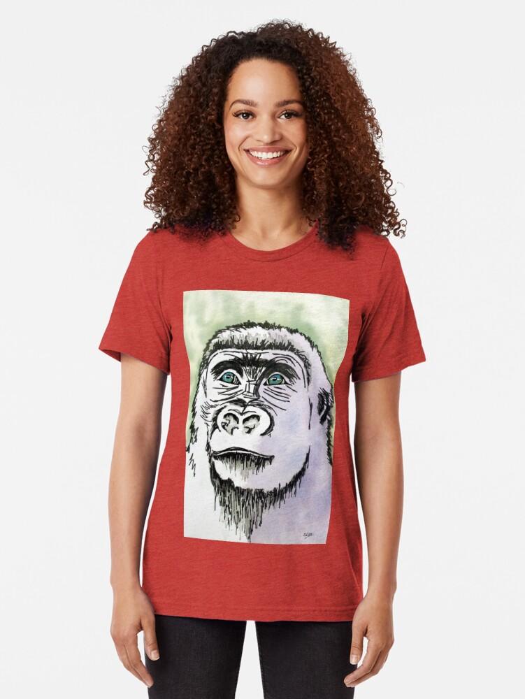 Alternate view of The Evolution Series: P2 Tri-blend T-Shirt