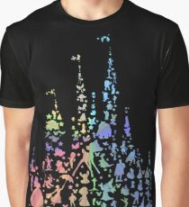 Happiest Castle On Earth (Rainbow Explosion) Graphic T-Shirt