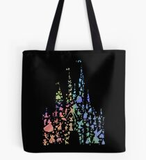 Happiest Castle On Earth (Rainbow Explosion) Tote Bag