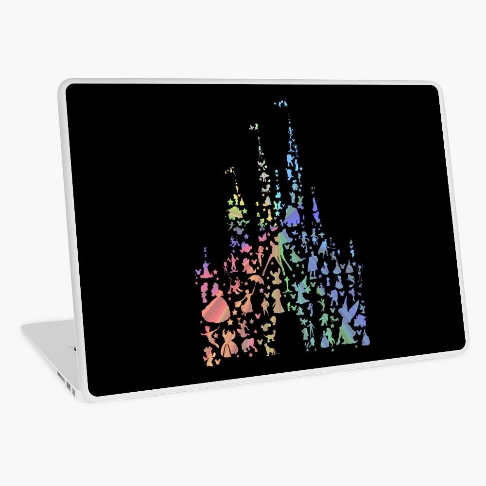 Happiest Castle On Earth (Rainbow Explosion) Laptop Skin