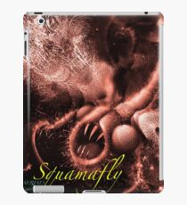 TIME AERIALS Squamafly Red with text iPad Case/Skin