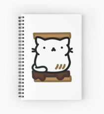Marshmallow Bean: I am a toasted smore Spiral Notebook