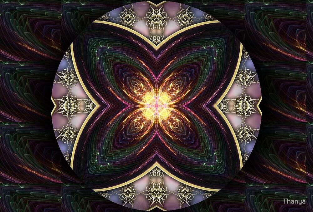 Ornal Mandala 3 by Thanya