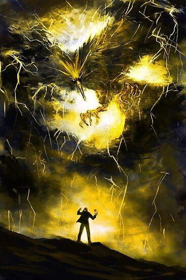 The Second Bird - Lightning by EmoryArt
