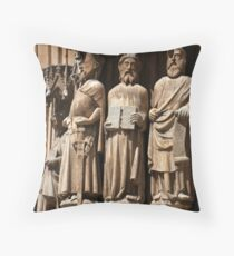 Tarragona Cathedral Throw Pillow