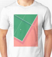 Table Tennis Ping Pong Table - Plain Salmon T-Shirt
