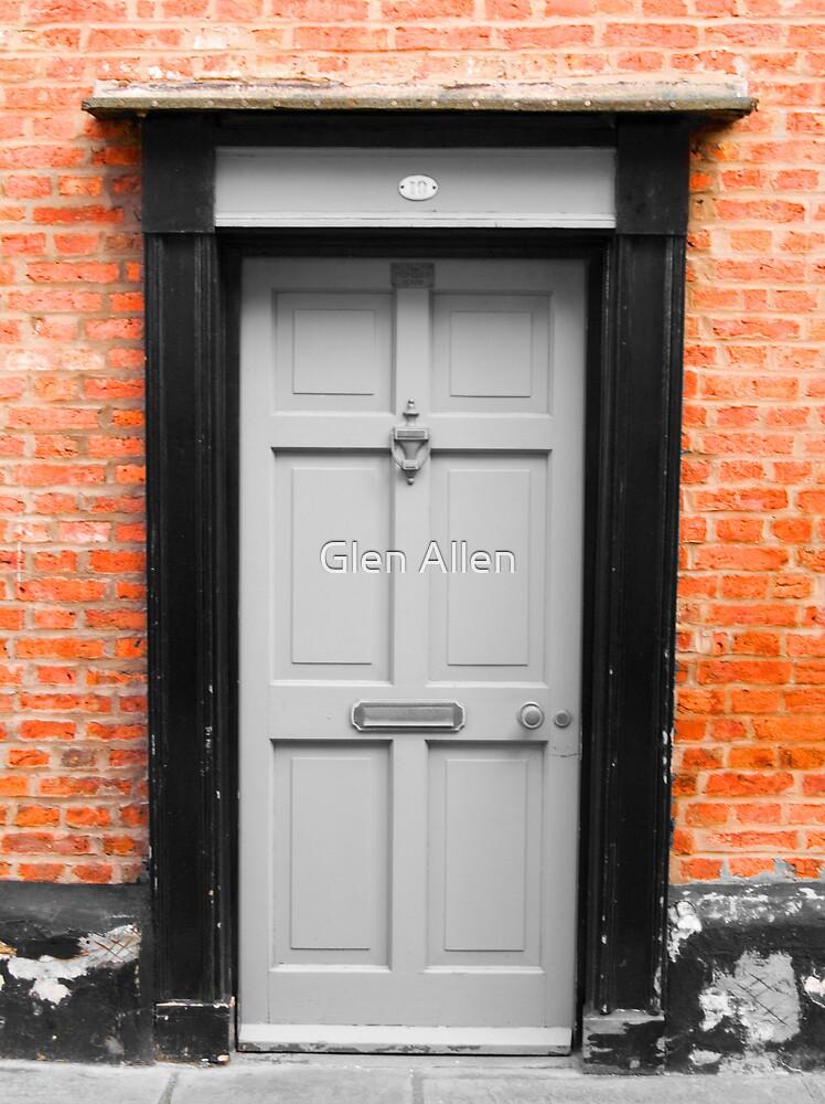 Grey Door by Glen Allen