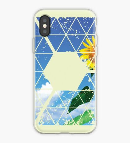Nature and Geometry - The Sunflower iPhone Case