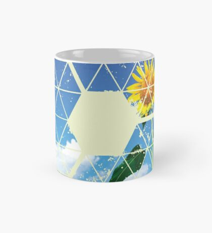 Nature and Geometry - The Sunflower Mug
