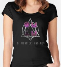 Of Monsters and Men Women's Fitted Scoop T-Shirt