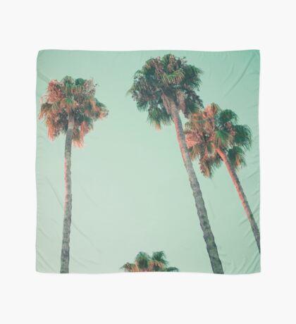 Palmen bei Sonnenuntergang Tuch
