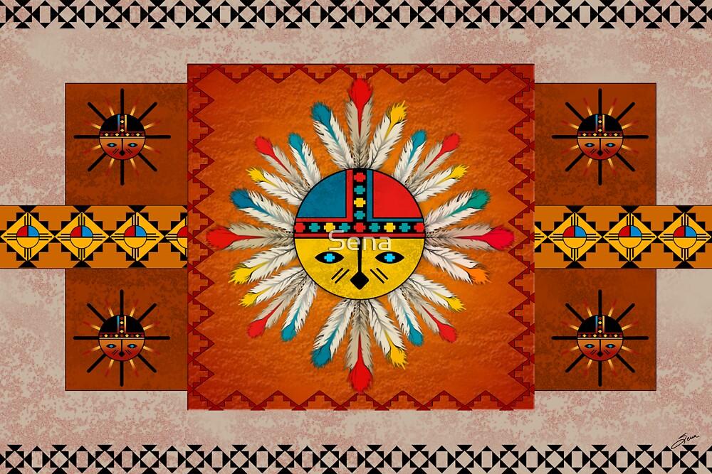 Katsina SunFace by Sena