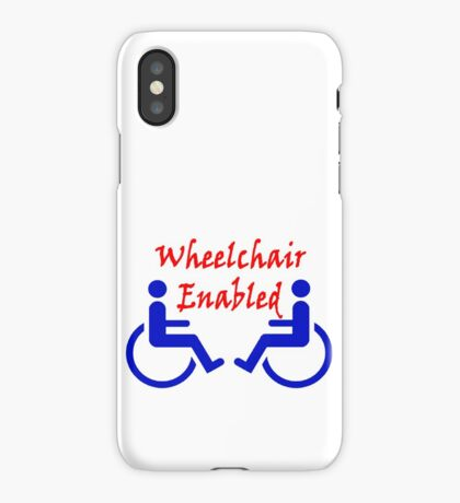 Wheelchair Enabled iPhone Case/Skin