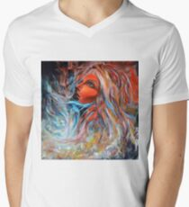 Wildfire, 100-100 cm, 2017, oil on canvas T-Shirt
