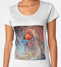 Wildfire, 100-100 cm, 2017, oil on canvas Women's Premium T-Shirt