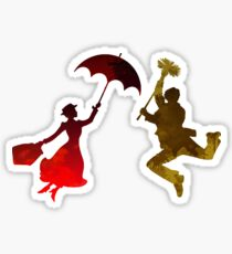 Couple Inspired Silhouette Sticker