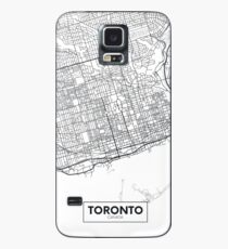 Vector poster map city Toronto Case/Skin for Samsung Galaxy