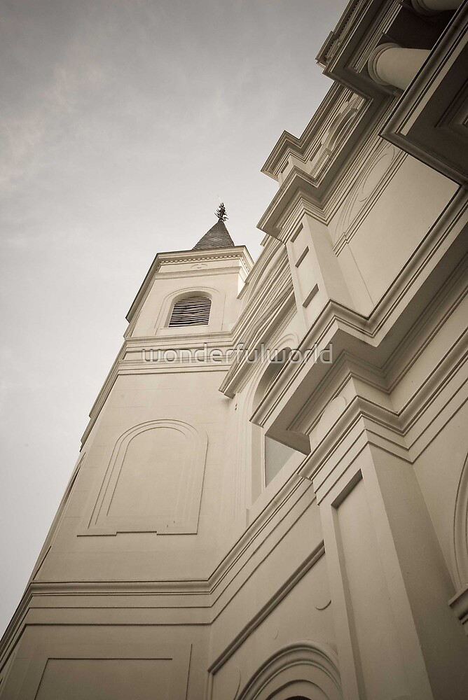 Saint Louis Cathedral, Jackson Square by wonderfulworld