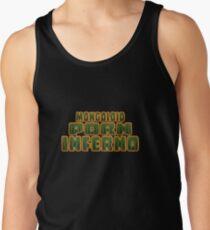 Mongoloid Porn Inferno Camiseta de tirantes