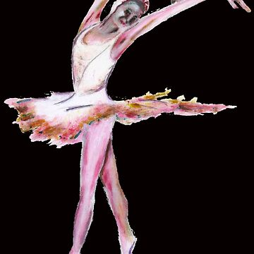 The Ballerina dance art  by TomConway