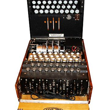 Secrets,  codes,  and the enigma machine  by TomConway