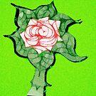Scribblertoo Rose by KazM