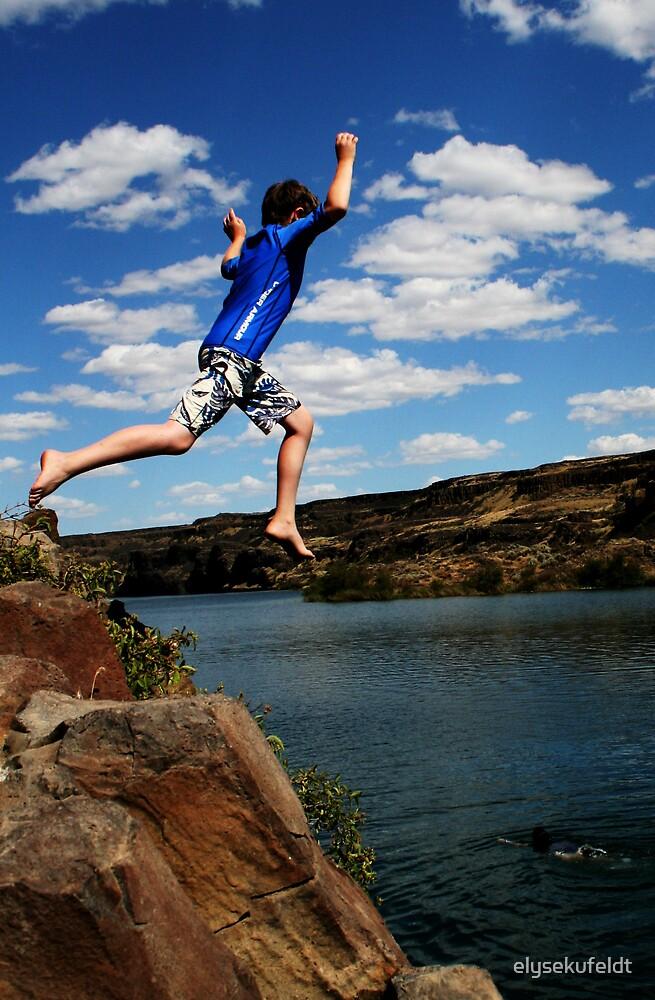 Riley Cliff Jumps by elysekufeldt