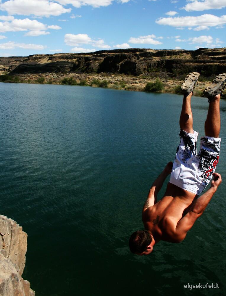 Tommy Back Flips Off a Cliff by elysekufeldt