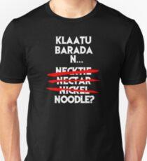Klaatu Barada Necktie? Slim Fit T-Shirt