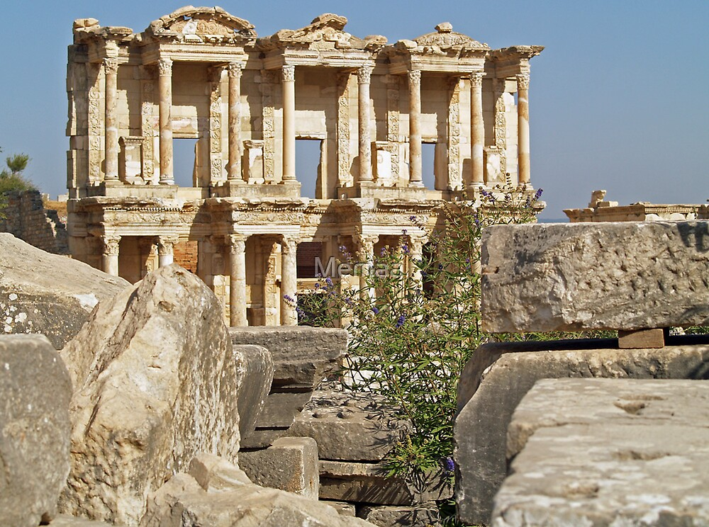 Ephesus Library Getting Closer by Memaa