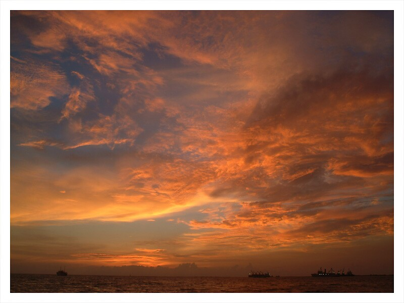 20 Minutes after Sunset by Dennis Pilapil
