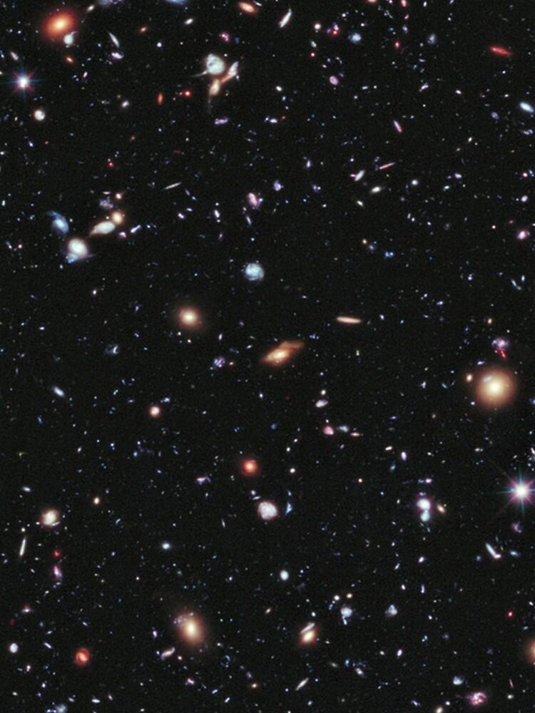 Hubble, COSMOS, Nasa, extremes tiefes Feldbild, Raum, Konstellation, Fornax von TOMSREDBUBBLE