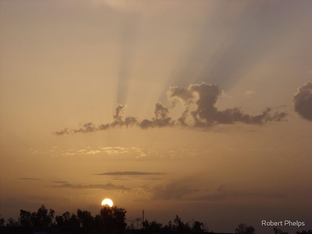 Iraqi Sunrise by Robert Phelps
