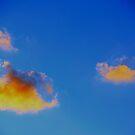 Orange Cloud by Justin  Robertson