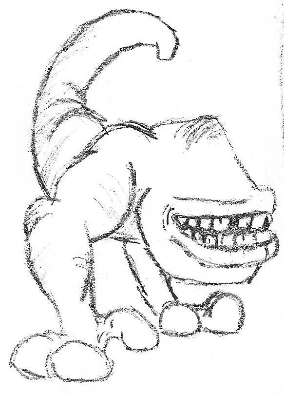 effin weird by sketchpad
