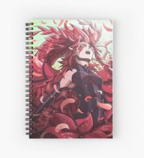 Black rose Spiral Notebook