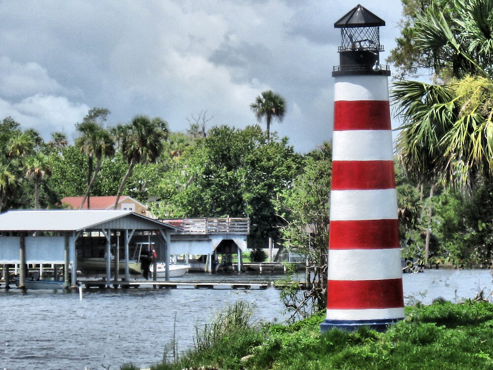 Lighthouse On Monkey Island by roselee