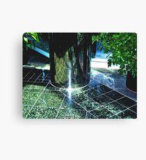 Tile Floor Canvas Print