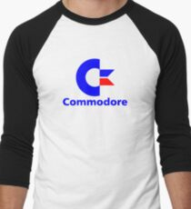 Commodore Logo Baseball Shirt for Men - S to 2XL