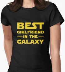 Best Girlfriend in the Galaxy Women's Fitted T-Shirt