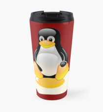 LINUX TUX  PENGUIN EGG MISCARRIAGE  Travel Mug