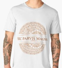 Sic Parvis Magna - Uncharted Men's Premium T-Shirt