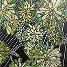 """Succulent in Green by Belinda """"BillyLee"""" NYE (Printmaker)"""